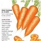 Seed Carrot Red Cored Chantenay Heirloom - Daucus carota sativus