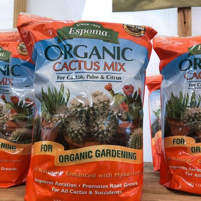 4Qt Organic Cactus Potting Mix/Soil Espoma
