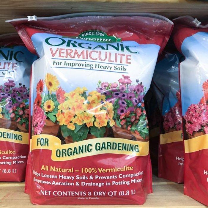 8Qt Organic Vermiculite Espoma