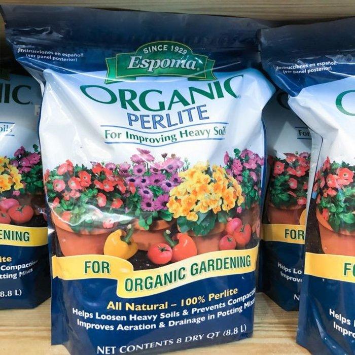 8Qt Organic Perlite Espoma