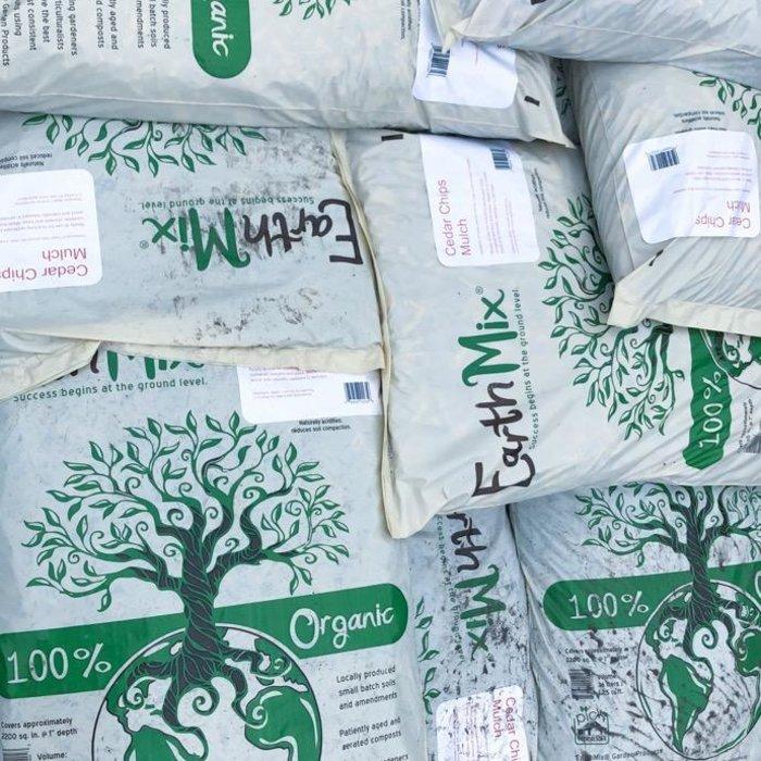 Bag 36L/1.25 Cuft EarthMix® Cedar™ Chip Mulch