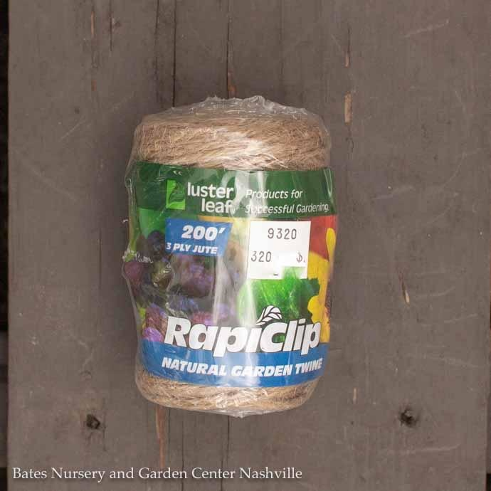Roll Garden Twine Heavy Duty 200' Natural Luster Leaf