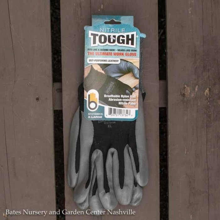 Bellingham Gloves Nitrile Tough X-Large Black