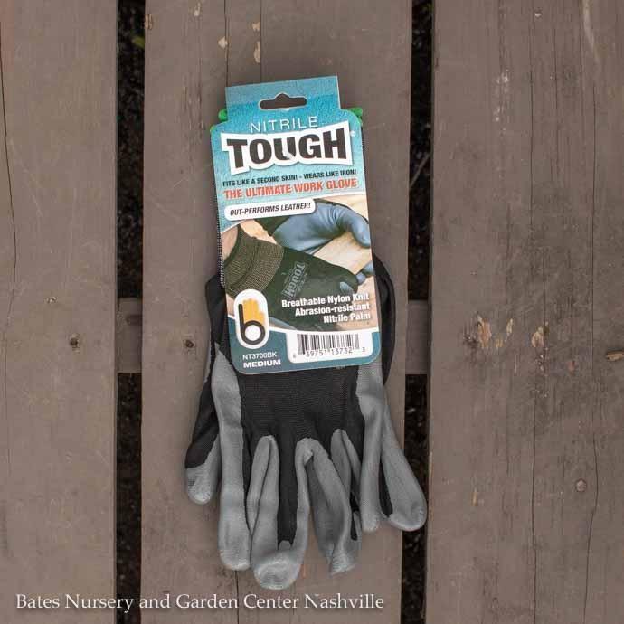 Bellingham Gloves Nitrile Tough Medium Black