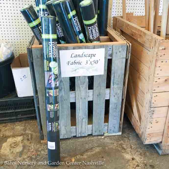 Miscellaneous Landscape Supplies