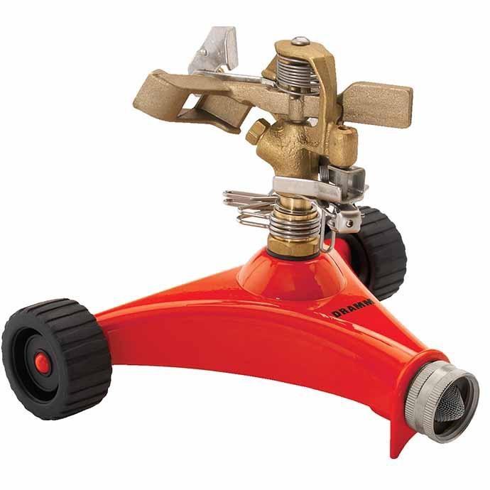 Sprinkler Impulse Wheeled Base ColorStorm Dramm Red