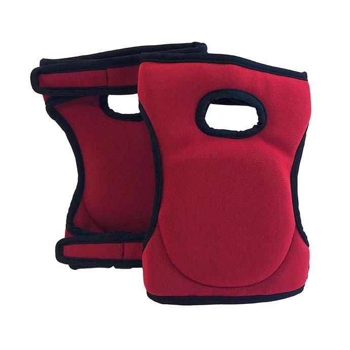 Knee Pads Red Foam 1pair