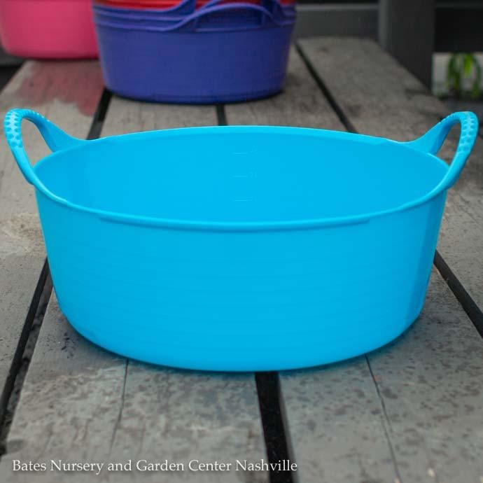 1.3Gal/5L Tubtrug Flexible Extra-Small Shallow Bucket - Blue