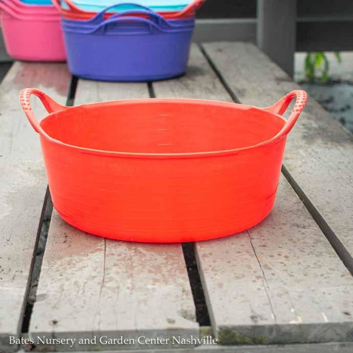 1.3Gal/5L Tubtrug Flexible Extra-Small Shallow Bucket - Red
