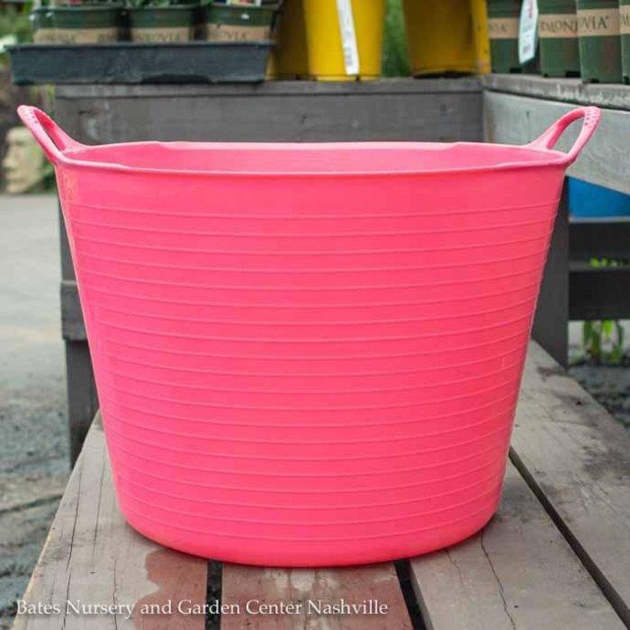 10.5Gal/38L Tubtrug Flexible Large Bucket - Pink