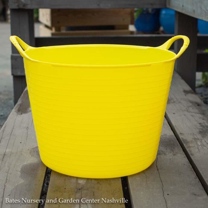 3.5Gal/14L Tubtrug Flexible Small Bucket - Yellow