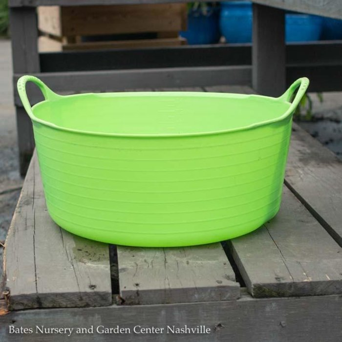 3.9Gal/15L Tubtrug Flexible Small Shallow Bucket - Pistachio