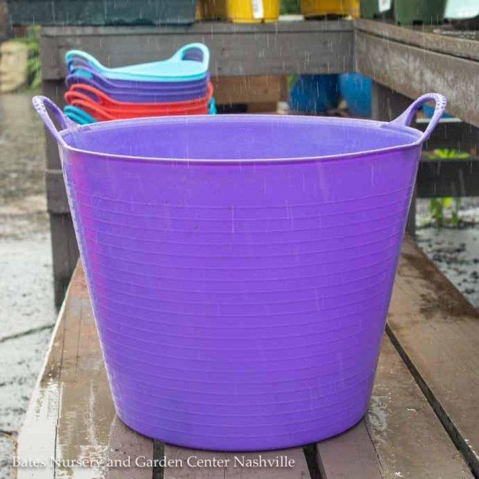 6.5Gal/26L Tubtrug Flexible Medium Bucket - Purple