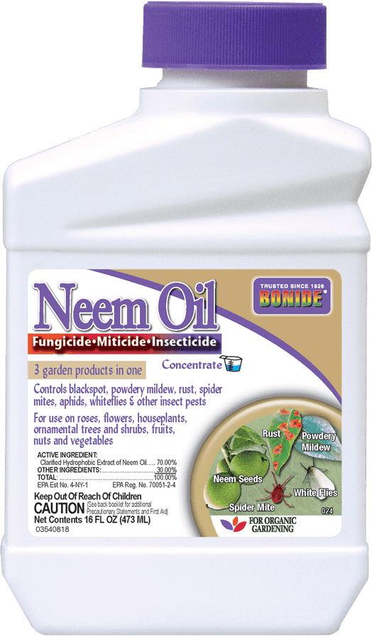 1Pt Neem Oil Concentrate Insect-Mite-Fungicide Bonide