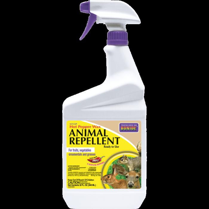 1Qt Hot Pepper Wax RTU/Animal Repellent Bonide