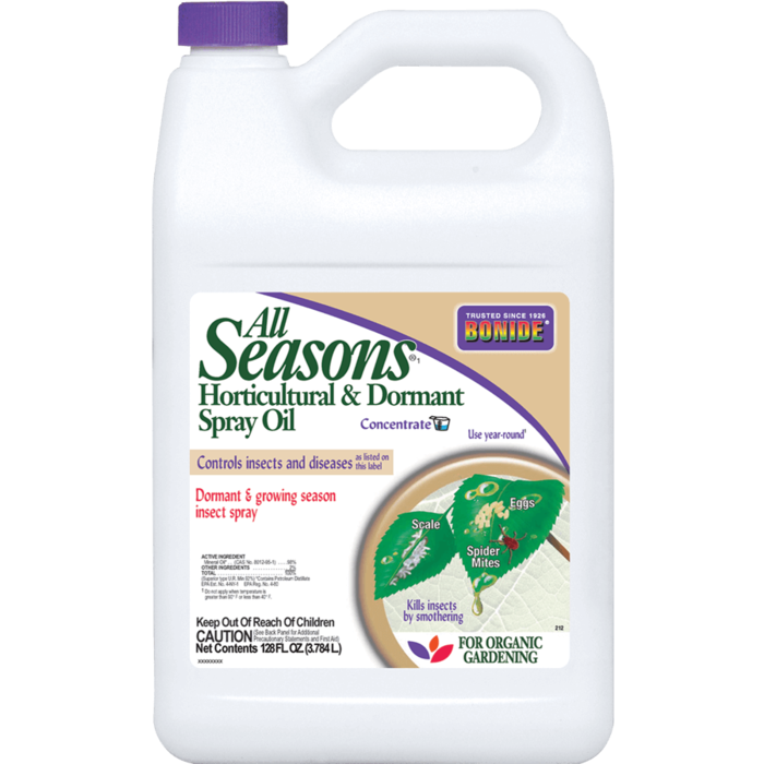 1Gal All Seasons Horticultural & Dormant Oil Spray Concentrate Insecticide Bonide