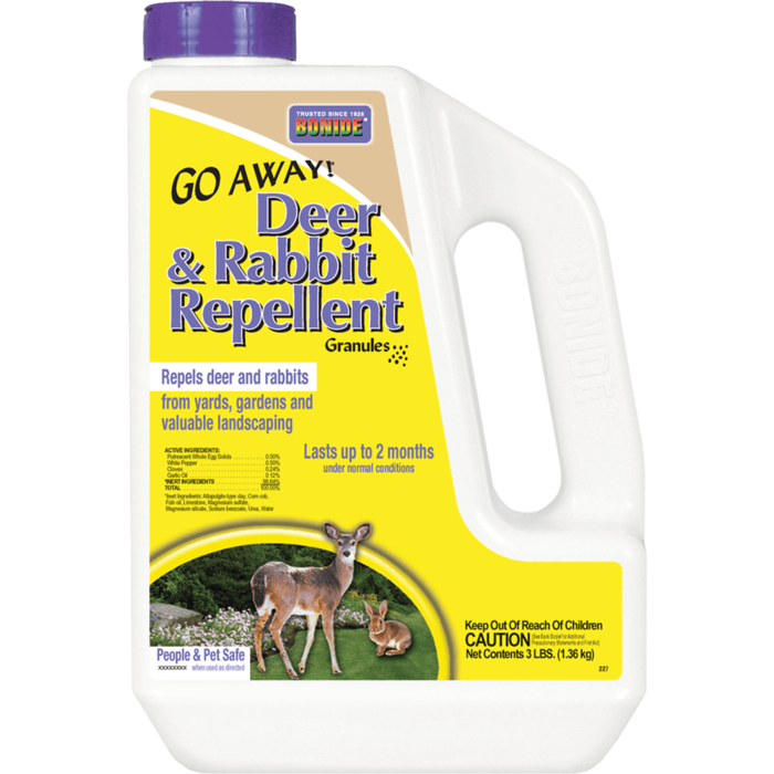 3Lb Go Away Deer & Rabbit Repellent Granules Bonide