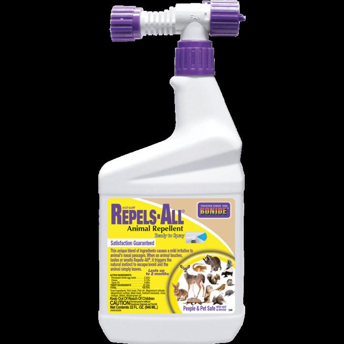 1Qt Repels-All Animal Repellent RTS Bonide