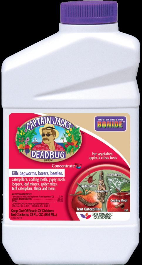 1Qt Captain Jack Dead Bug Brew Concentrate Insecticide Bonide