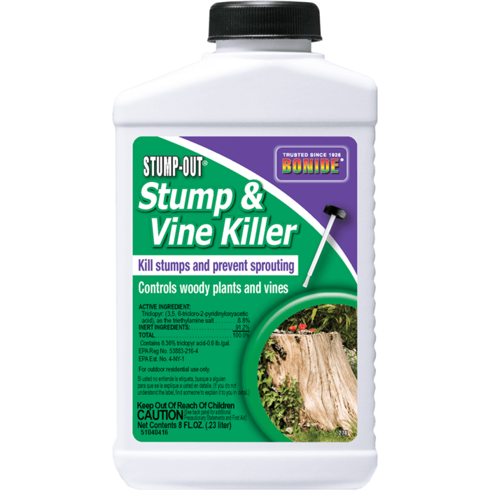 8oz Stump & Vine Killer Concentrate Herbicide Bonide