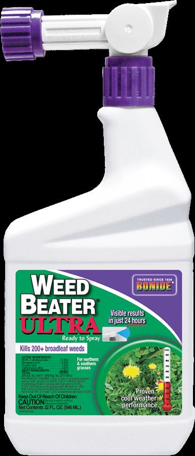 1Qt Weed Beater Ultra RTS Hose Herbicide Bonide