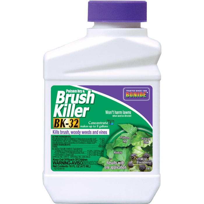 1Pt Brush Killer Bk-32 Herbicide Concentrate Bonide