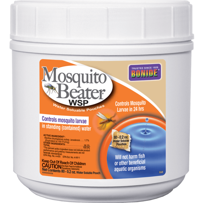 1pkg Mosquito Beater WSP 80/pk Insecticide Bonide