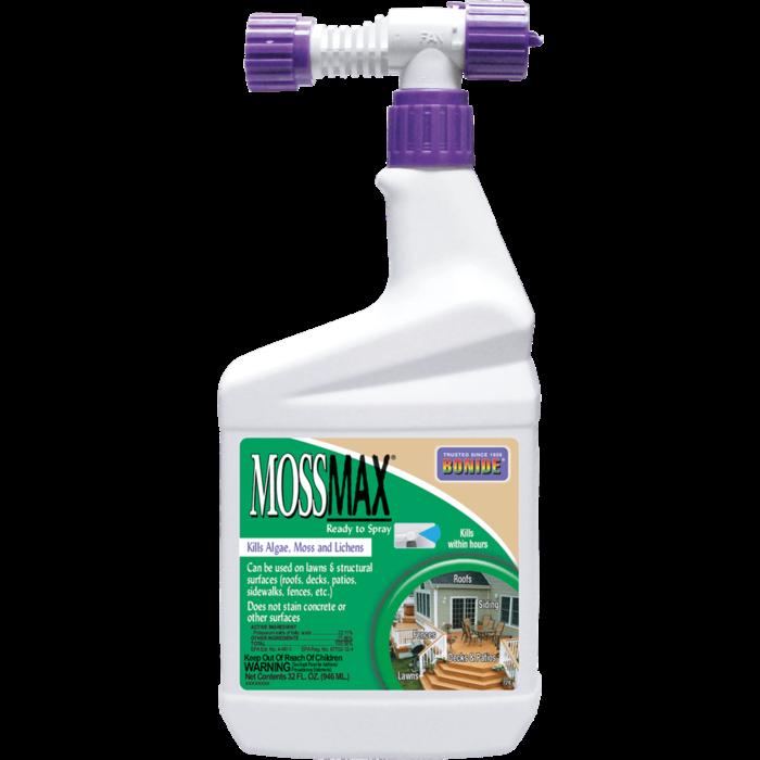1Qt Mossmax /Algae Moss & Lichens RTS Herbicide Bonide
