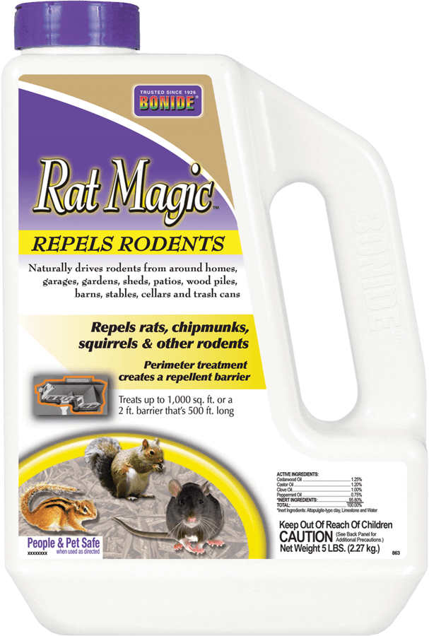 5Lb Rat Magic All Natural Repellent Bonide