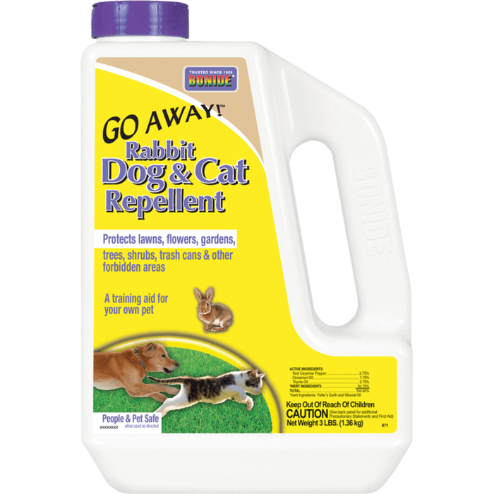 3Lb Go Away Rabbit Dog & Cat Repellent Granules Bonide