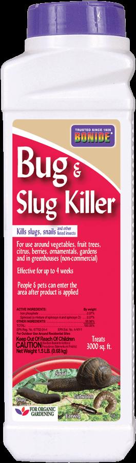1.5Lb Bug & Slug Killer Insecticide Bonide