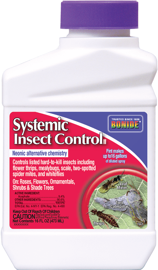 1Pt Liquid Systemic Insect Control Concentrate Bonide