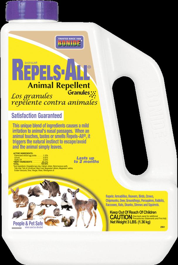 3Lb Repels-All Animal Repellent Granules Bonide