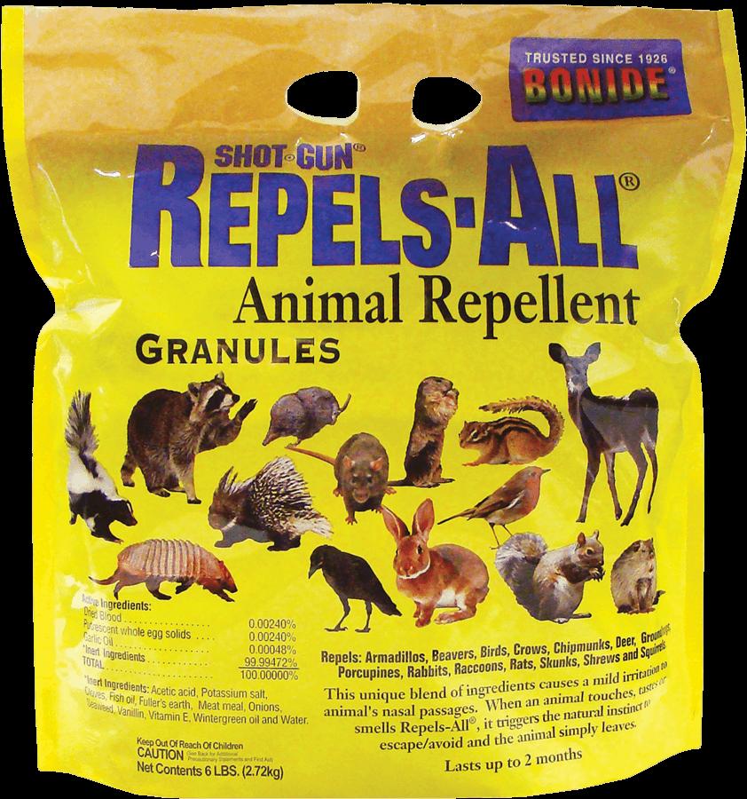 6Lb Repels-All Animal Repellent Granules Bonide