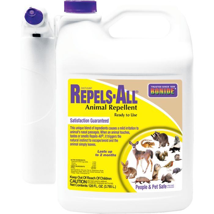 1Gal Repels-All Animal Repellent RTU w/Power Sprayer Bonide