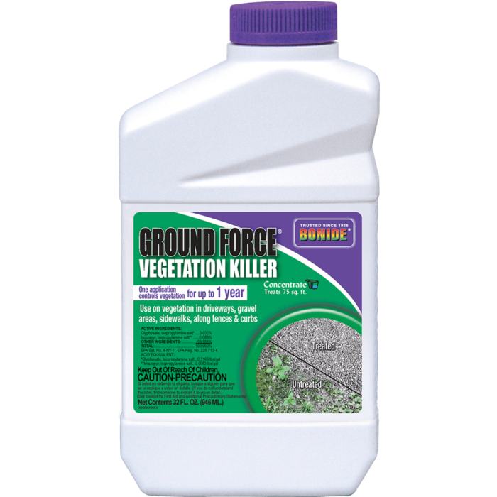 1Qt Ground Force Vegetation Killer Concentrate Bonide