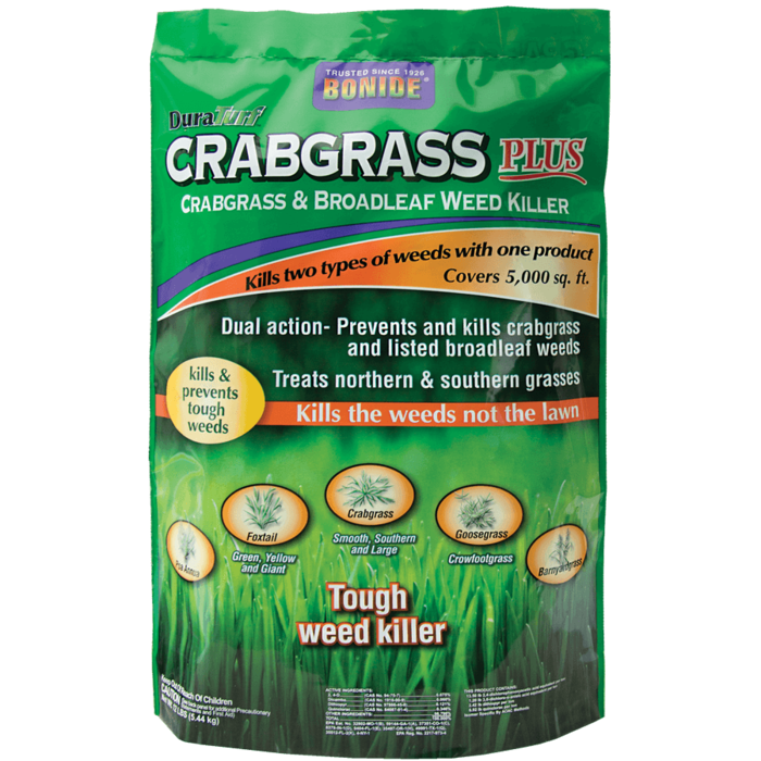 12Lb Crabgrass Plus Weed Killer Granules Bonide