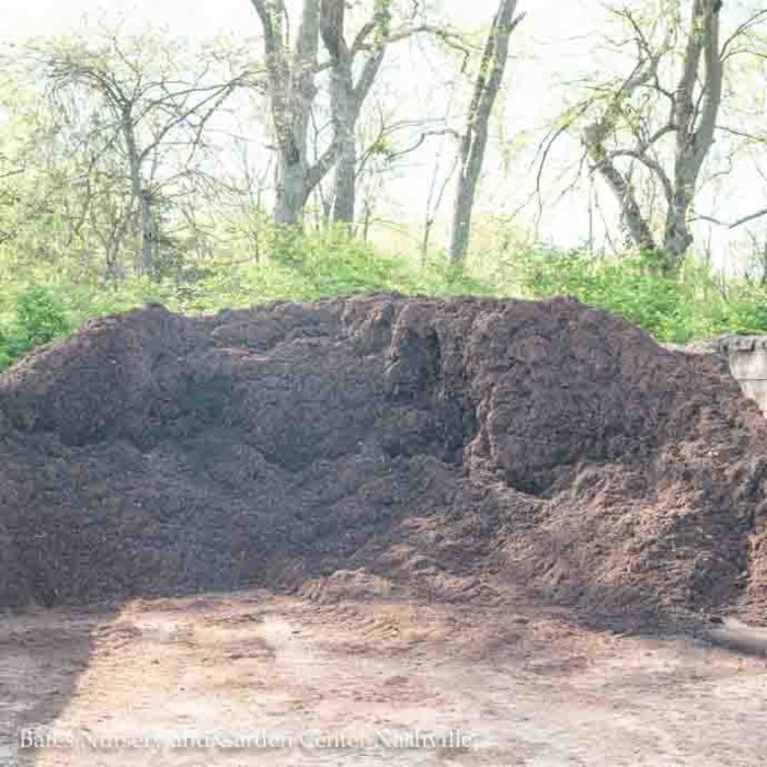 E-1 Bulk Mini EarthMix® Natural™ Brown Hardwood Bark Mulch .6 C/Y (1 Bulk Product Per Delivery)