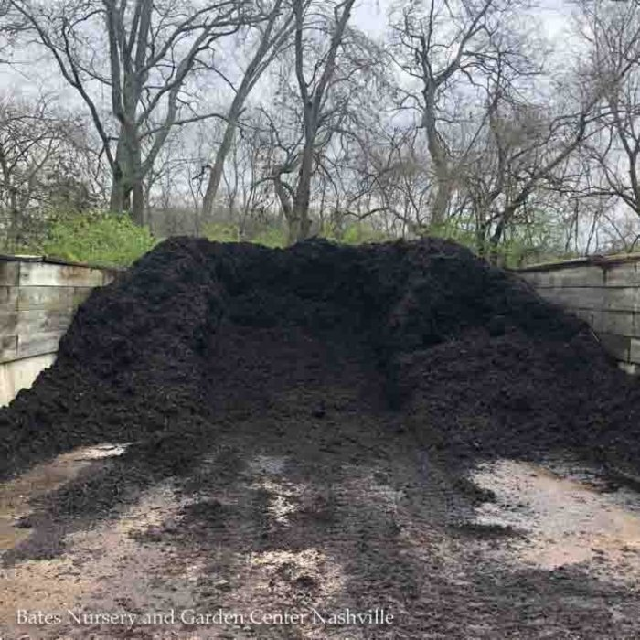 E-2 Bulk EarthMix® Knight™ Black Hardwood Bark Mulch 1.25 C/Y (4 Scoop Maximum Per Delivery  1 Bulk Product Per Delivery)