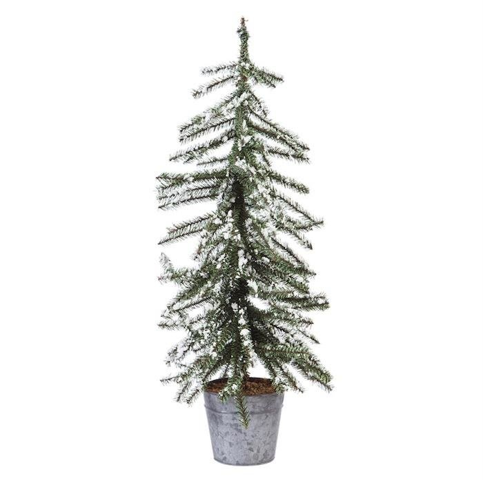 "30"" Snow Covered Tree Decor"