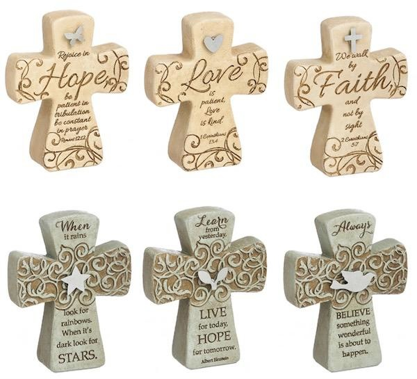 Inspirational Cross Asst 4x3