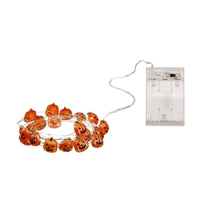 6' LED String Light Pumpkin