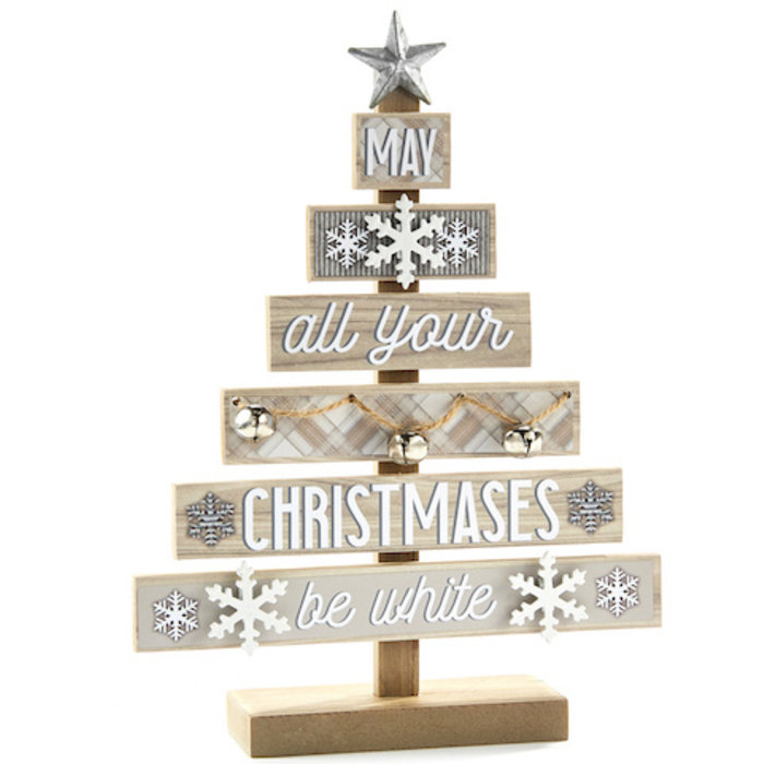 Christmas Decor Stacked Tree 11x15