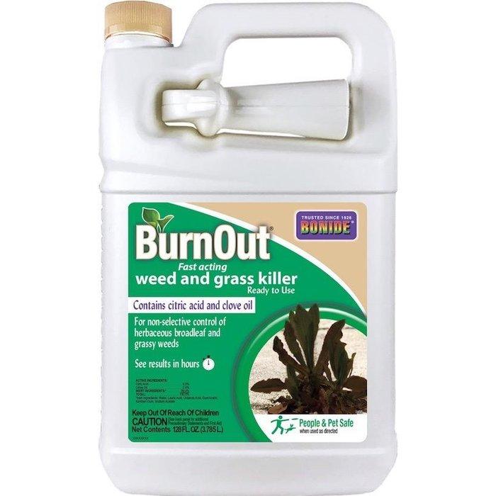 1 Gal BurnOut Weed & Grass Killer RTU Herbicide Bonide