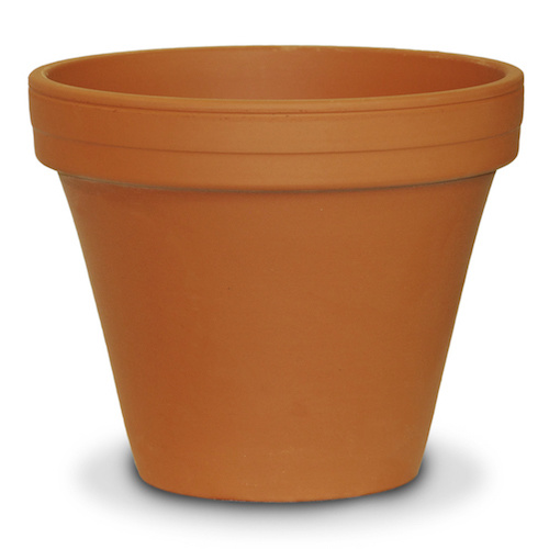 "Pot 16"" Clay Standard / Terracotta"