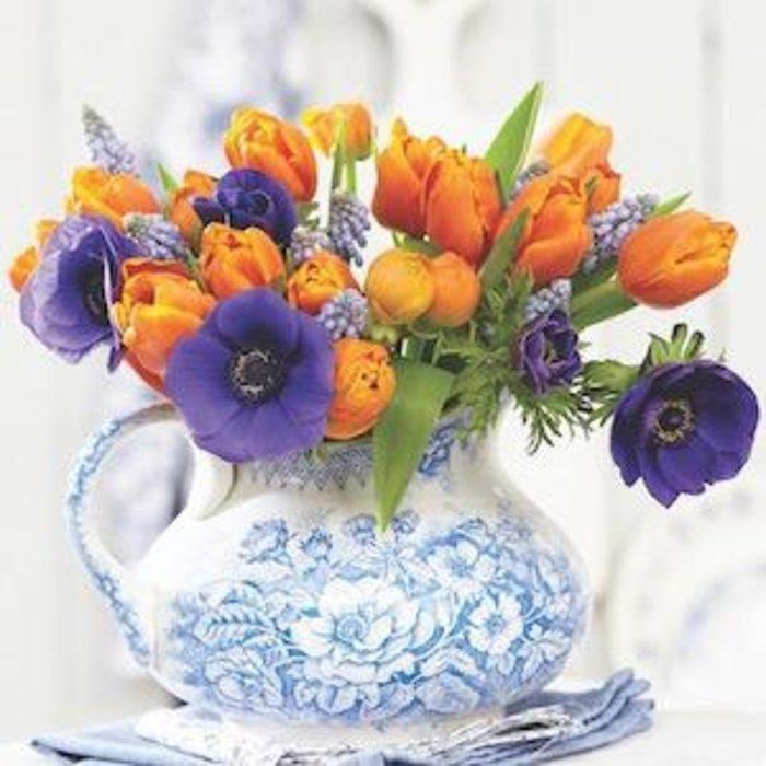 Bulb Blend Tulip Royal Affaire  /Purple & Orange 30/pk