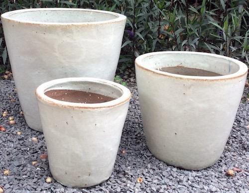Pot Cologne Rd Taper Planter Med 12x12 Asst