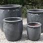 Pot Village Planter w/Dots Med 15x15 Asst