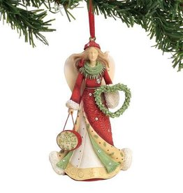 Enesco HRTCH Deck the Halls Ornament