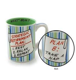 Enesco ONIM Mug - Retirement Plan